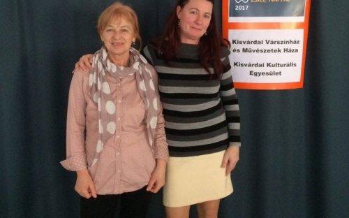 Dr.Kántorné Sárközi Katalin és Lengyel Tímea