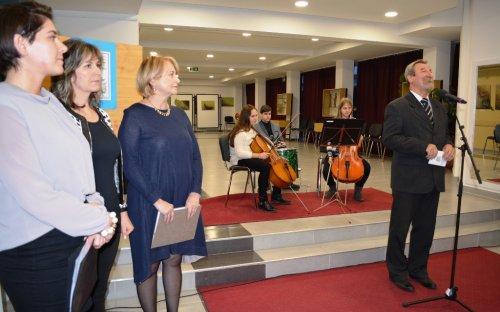 Dr. Szalmásné Nagy Tímea kiállítása - megnyitó