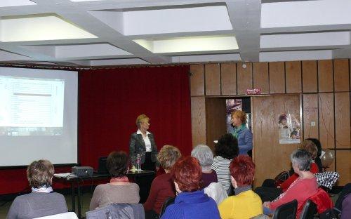 Az előadás közönsége - (Kőrizs J. fotója)