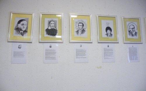 A kiállítás képei
