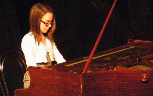 Bencsik Panna, a Weiner Leó Alapfokú Zene- és Művészeti Iskola tanulója